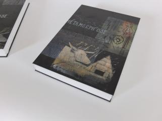 Couverture des livres d'artistes Métamorph'Ose! Atelier pluridisciplinaire mené par l'association D'ici à Là en détention