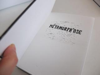 Métamorph'Ose! un livre d'artistes. Projet autour de l'oeuvre d'Ovide mené par l'association D'ici à Là au centre pénitentiaire de Fresnes